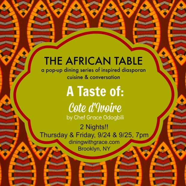 The African Table Cote d'Ivoire