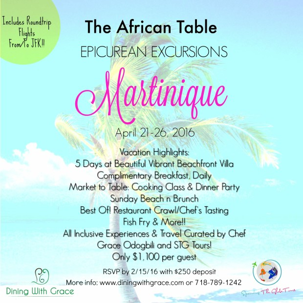 Martinique Flyer ItineraryUPD
